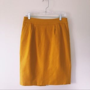 Yellow Banana Republic Pencil Skirt